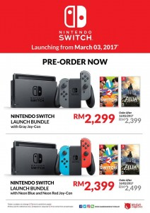 Gamers Hideout Nintendo Switch pre-order