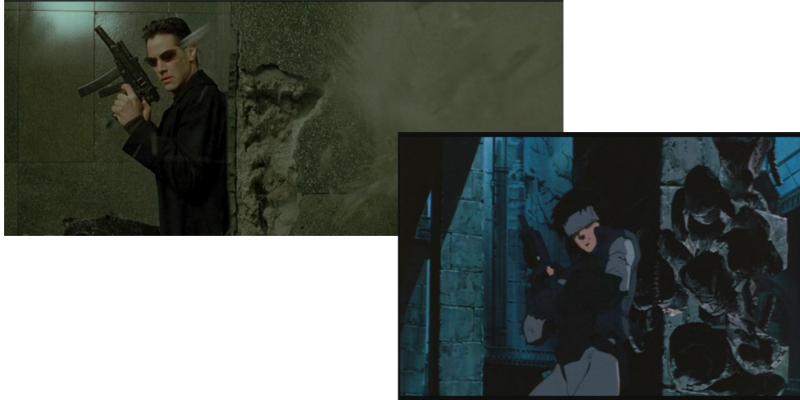 Ghost in the Shell Matrix comparison