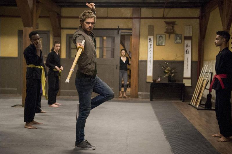 Iron Fist Danny Sword