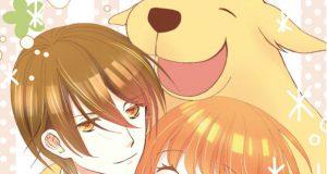 Komori and Tenma manga