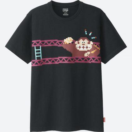 Uniqlo Donkey Kong T Shirt 3 Front