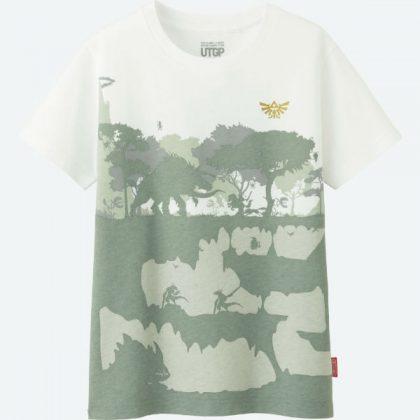 Uniqlo Zelda T Shirt 2 front