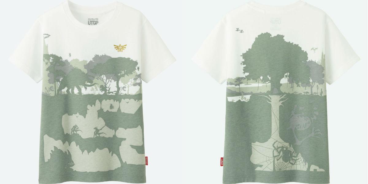 3rd Prize Winner Uniqlo Nintendo T-Shirt design