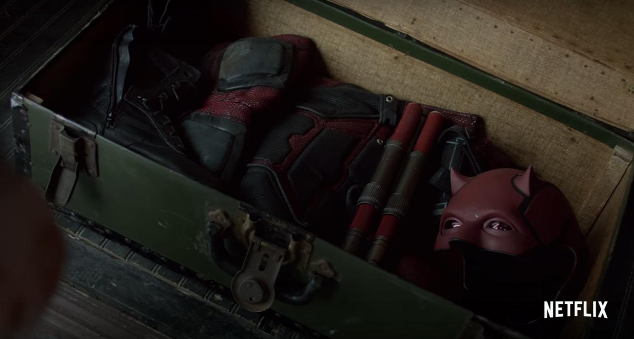 Daredevil's Costume The Defenders