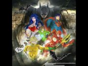 Batman and Justice League Manga