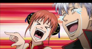 Laughing gintama