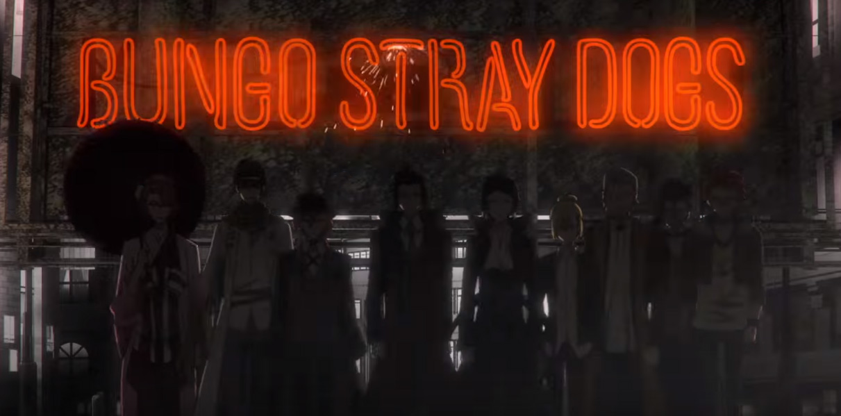 Theres A Trailer Out For The Upcoming Bungo Stray Dogs Anime