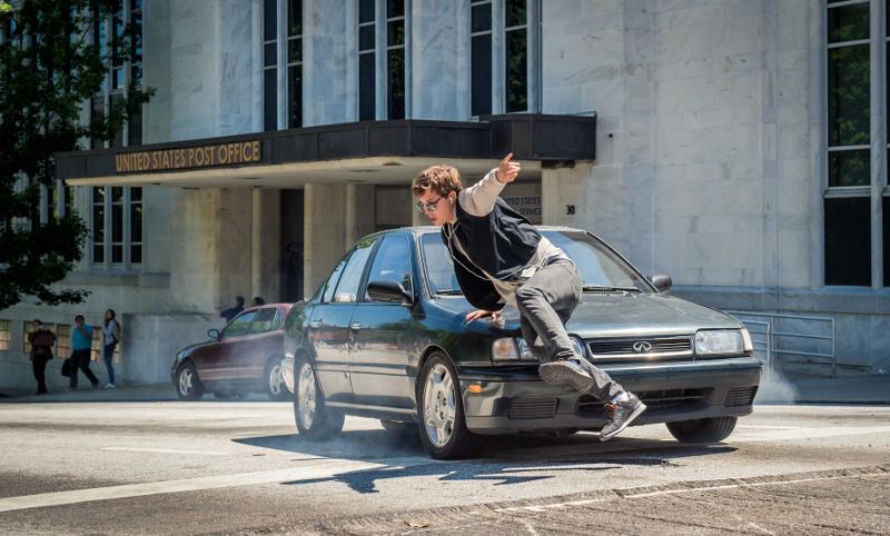 Baby Driver Ansel Car Hood