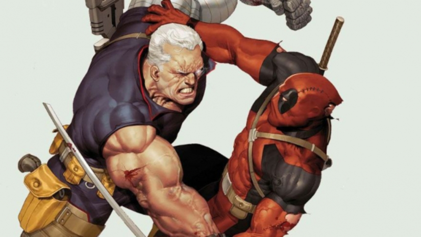 Here S The First Look Of Josh Brolin As Cable In Deadpool 2