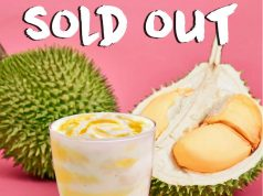 Durian mcFlurry sold out