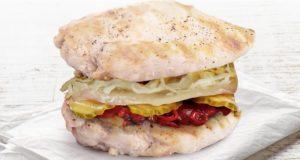 KFC Double Steam Chicken burger