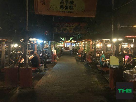 Ming Tien Main Walkway