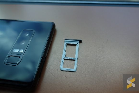 Samsung Galaxy Note8 Sim Slot