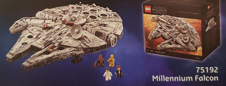 Star Wars UCS Lego Catalogue image