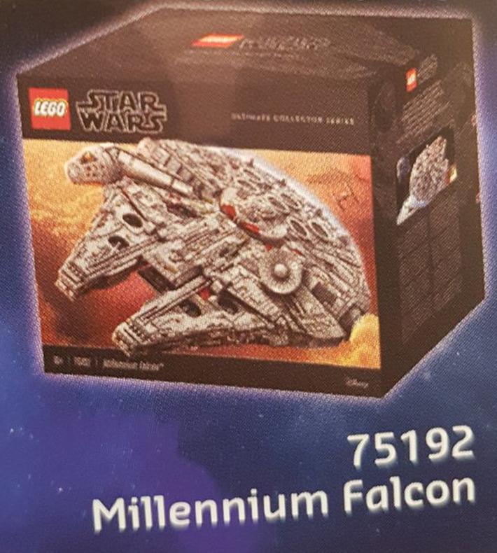 UCS Millenium Falcon box