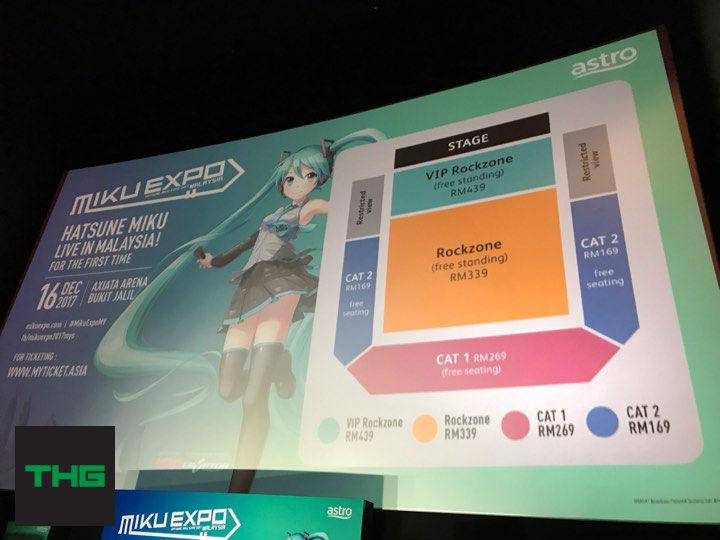 Hatsune miku ticket prices and arrangements