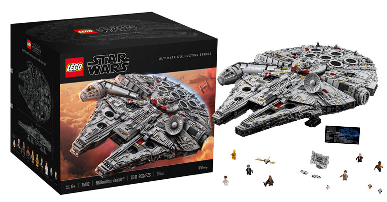 Lego UCS millennium falcon full set