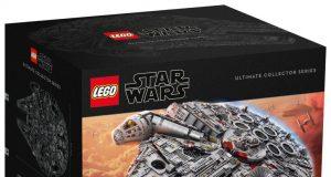 Lego UCS millennium falcon main box