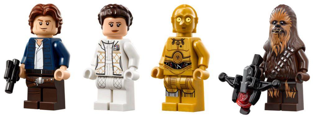 Lego UCS millennium falcon minifig classic Star Wars