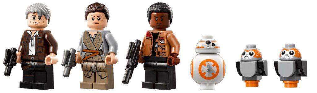 Lego UCS millennium falcon minifig new star wars