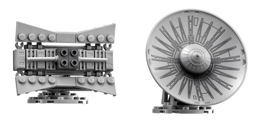 Lego UCS millennium falcon sattelite dish