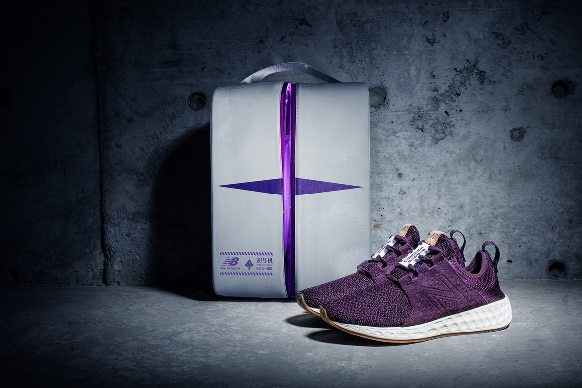new balance just went full anime with their new evangelion sneakers