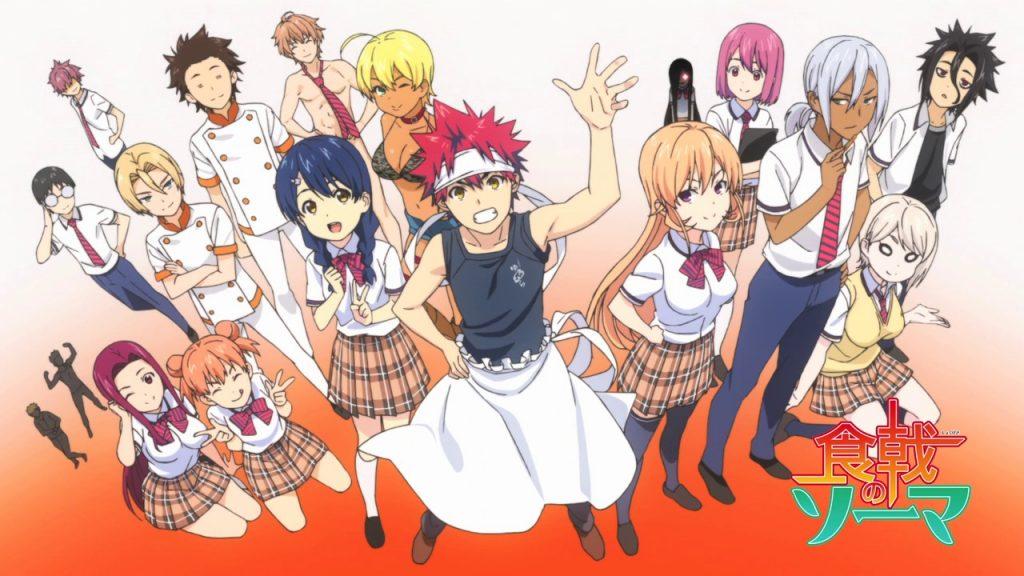 Shokugeki no soma season 3