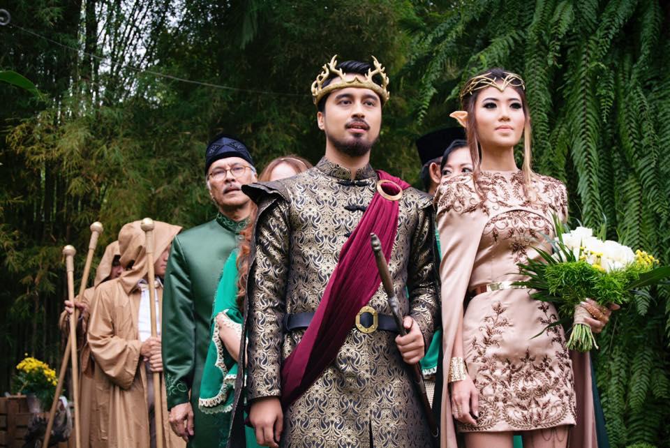 Indonesian Couple Splash Rm56000 On Amazing Game Of Thrones Wedding