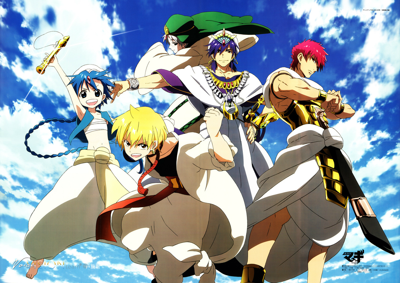 Image result for Magi Anime