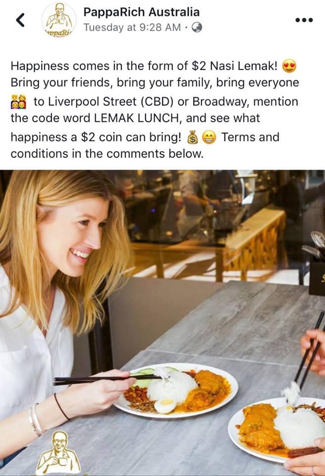 papparich nasi lemak chopstick
