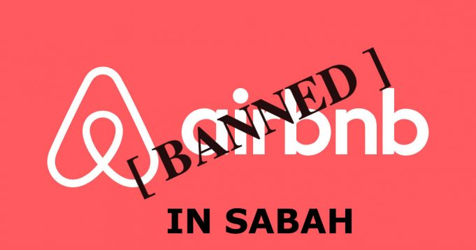 Airbnb banned in sabah