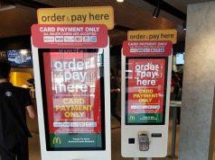 McDonlads serl serving kiosk Malaysia