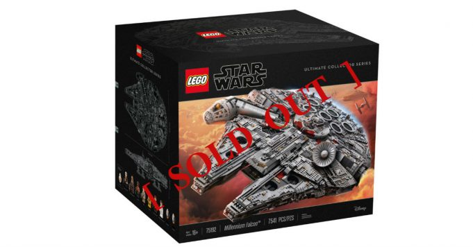 Sold Out UCS Millennium Falcon Malaysia