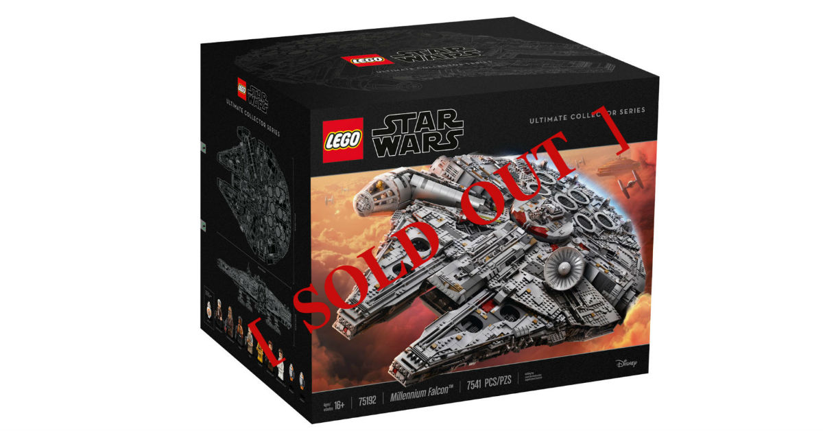 LEGO Star Wars UCS Millennium Falcon to be restocked in Malaysia ...