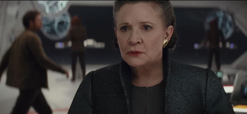 Star Wars The Last Jedi Leia Death
