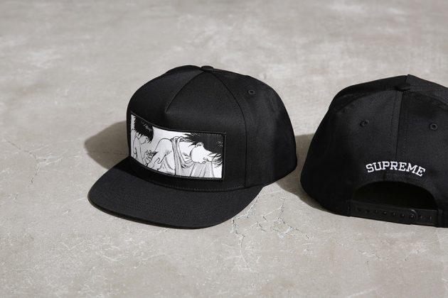 Supreme x Akira 5 panel cap
