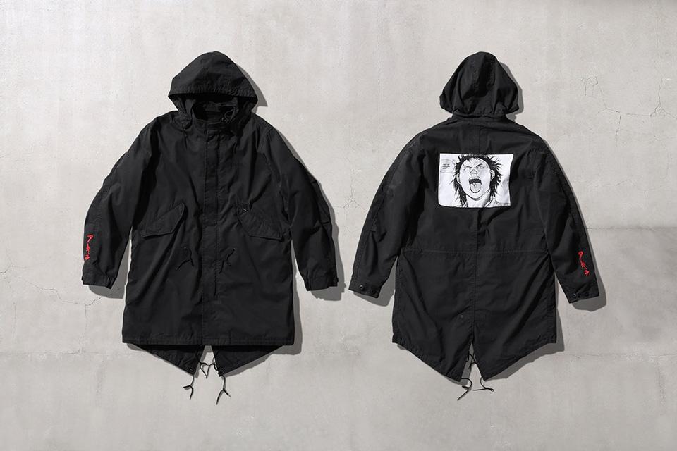 best cheap 032e5 7b3da Supreme x Akira Fishtail parka black
