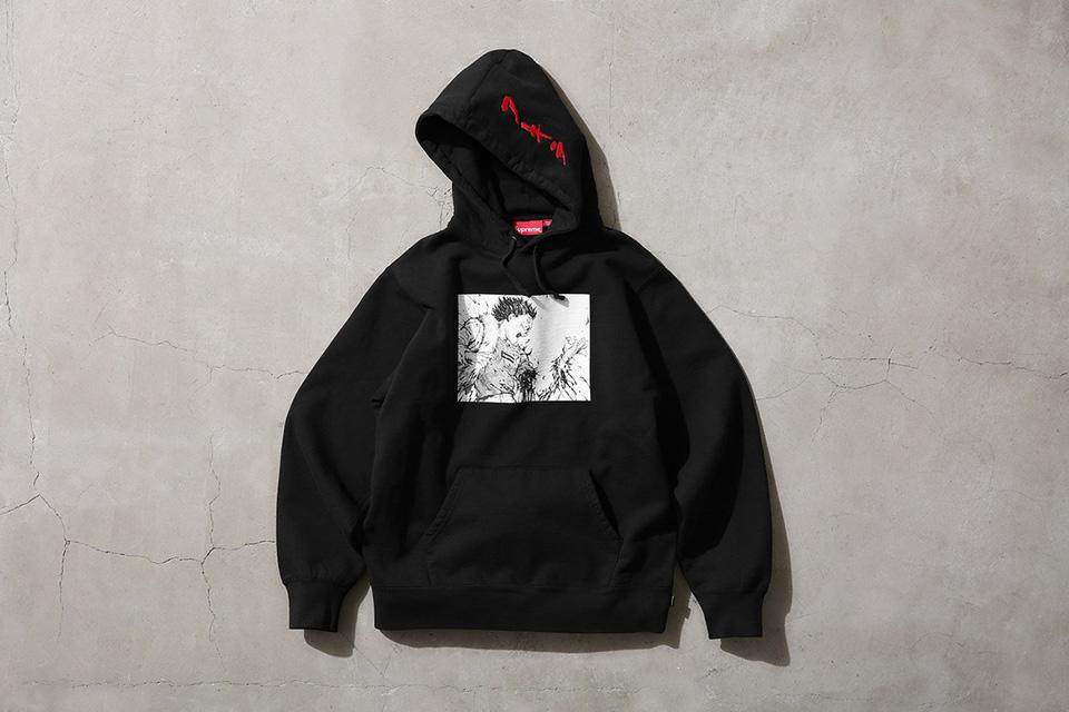 new arrival 32816 2987e Supreme x Akira Hooded Sweatshirt Black