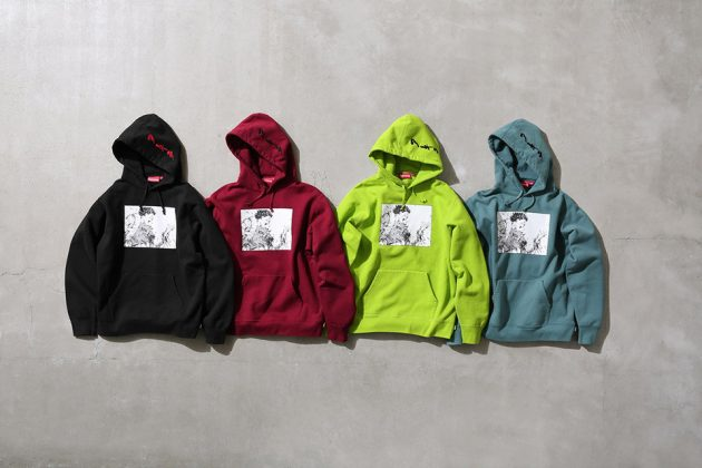Supreme x Akira Hooded Sweatshirt collection 1