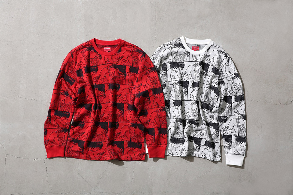 3211b27dfc0 Take a first look at the upcoming Supreme x Akira collaboration