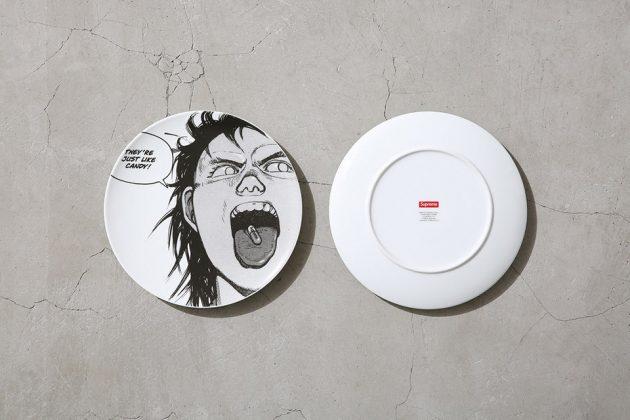 Supreme x Akira Round Plate