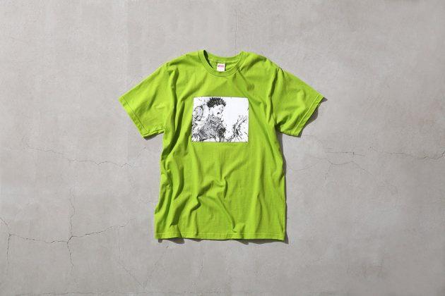 Supreme x Akira T Shirt Green 2
