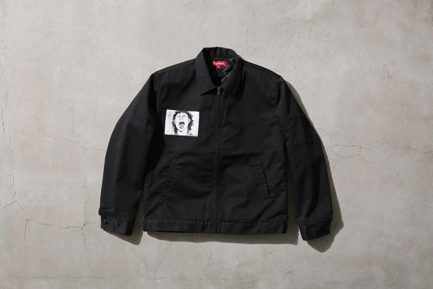 Supreme x Akira Work Jacket Black Front