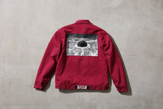 Supreme x Akira Work Jacket Red Back