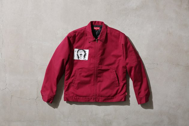 Supreme x Akira Work Jacket Red Front