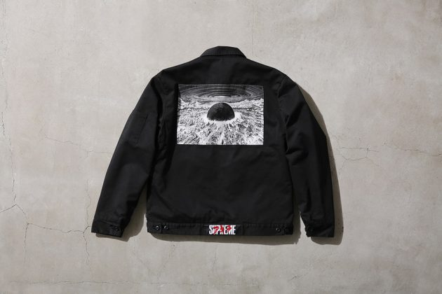 Supreme x Akira Work Jacket back Black