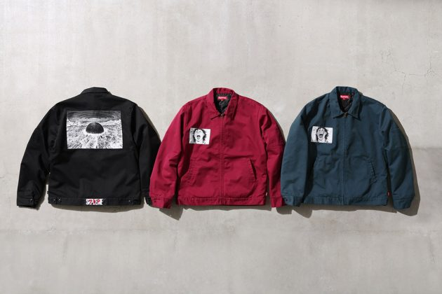 Supreme x Akira Work Jacket collection
