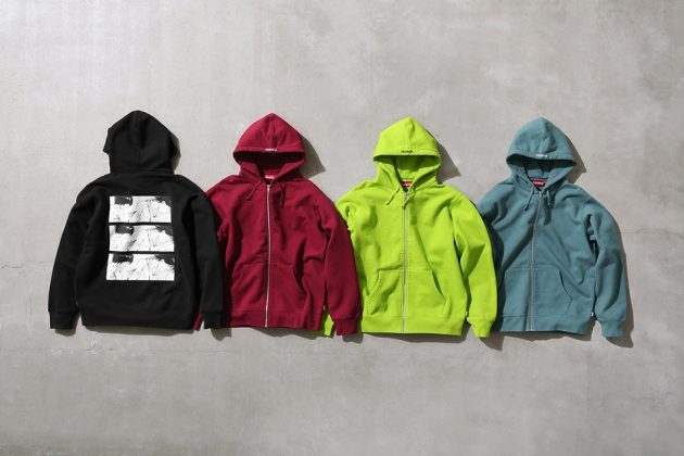 Supreme x Akira Zip Up Hoodie collection