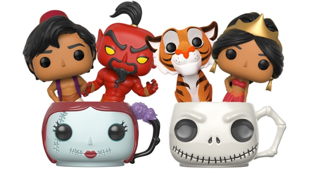 Funko's got Aladdin Pop Vinyls and Nightmare Before Christmas mugs ...