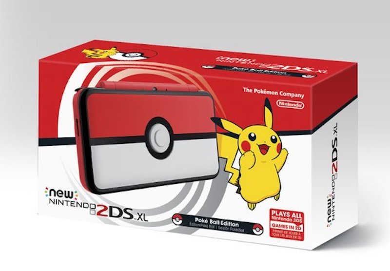 this pokemon themed nintendo 2ds xl has a cool little. Black Bedroom Furniture Sets. Home Design Ideas